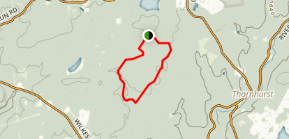 Choke Creek Trail Map