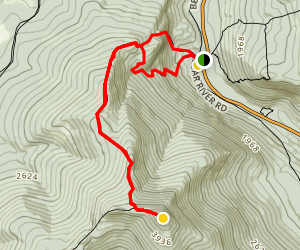 Old Speck Mountain Trail Map