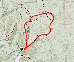 Hiking Trail 10 Map