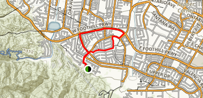 Cleveland National Forest Trail Map