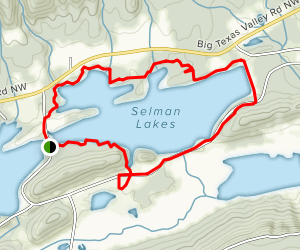 Rocky Mountain Trail Map