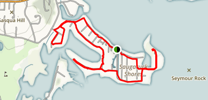 Beach Lagoon Trail Map