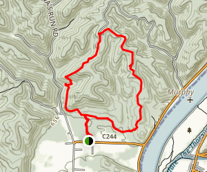 Kinderhook Trail Map