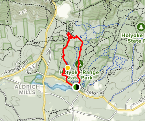 Roller Coaster Loop Trail from Batchler Street Map