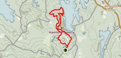 Hamlin Trail Map