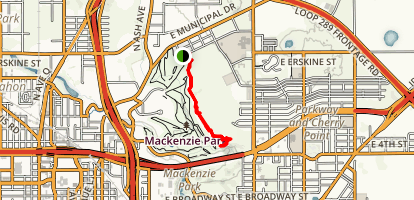 Purina Trail Map