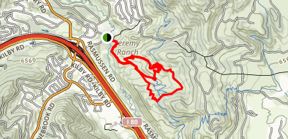 The Graduate, Fink Again, and Dropout Loop Trails Map