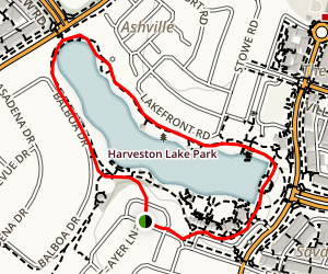 Harveston Trail Map