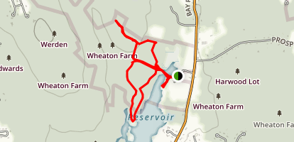 Wheaton Farm Conservation Area Trail Map