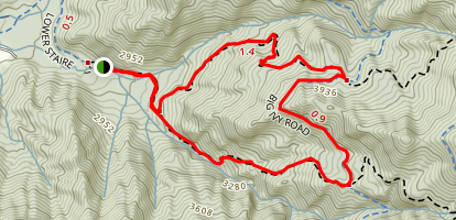 Walker Creek Trail Map
