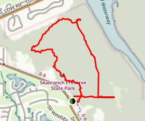Seabranch Preserve Map