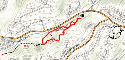 Clover Ridge Trail Map
