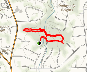 Dunwoody Nature Trail  Map