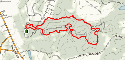 Lynches Woods Park Trail Map
