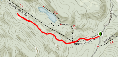 Innman Pond Trail Map