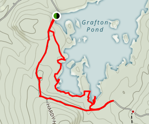 Grafton Pond Map