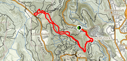 Powder Mill Trail Map