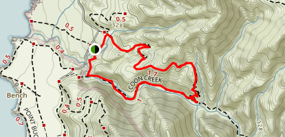 Rattlesnake Flats Trail Map