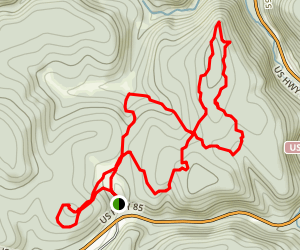 Eagle Cliff Trails Map