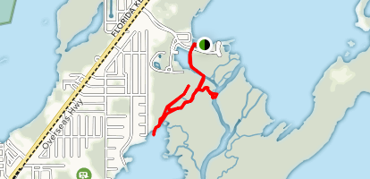 South Sound and Turtlegrass Creek Paddle Map