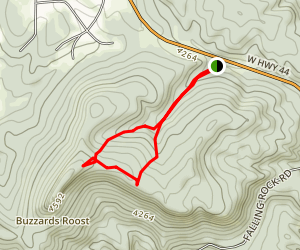 Buzzard Trail Loop Map