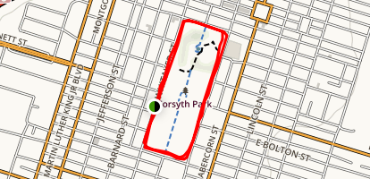 Forsyth Park Map