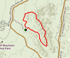 Scenic Trail Map