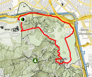 Old Zoo Trail Map