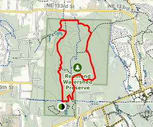Trillium Trail and Siler's Mill Trail Map