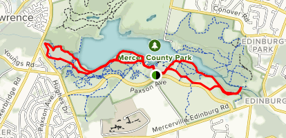 Mercer County Park (East and West) Trails - New Jersey ...