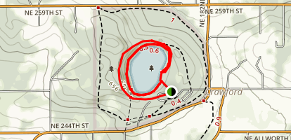 Battle Ground Lake Loop Trail Map