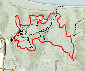 Fontenelle Forest Trails Map