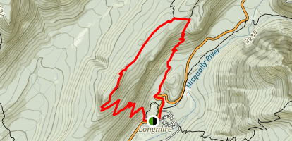 Rampart Ridge Loop Trail Map