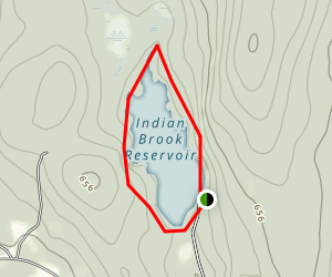 Indian Brook Reservoir Map