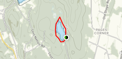 Indian Brook Reservoir (PRIVATE PROPERTY) Map