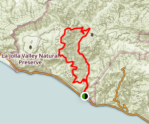 Big Sycamore Canyon Loop Trail Map