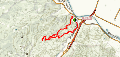 Trail 41 and Trail 36 Loop Map