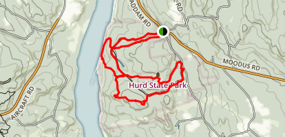 Hurd State Park Map