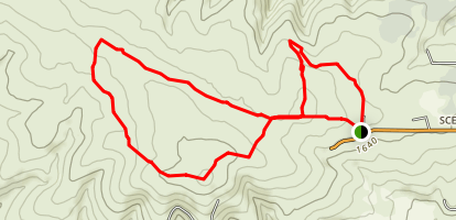 Cowiche Canyon Conservancy Trails Map