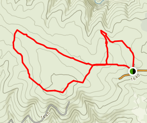 Cowiche Canyon Uplands Map