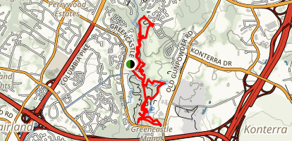 Fairland Recreational Trail Map
