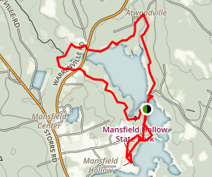 Mansfield Hollow Lake Trail Connecticut AllTrails