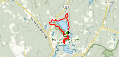 Mansfield Hollow Lake Trail - Connecticut | AllTrails on pomfret map, hampton map, middletown map, columbia map, hebron map, manchester map, tar hollow state park map,