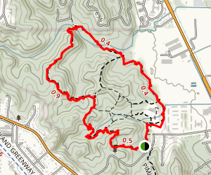 Forest Nature Center Outer Loop Trail Map