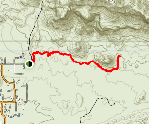 Lost Goldmine Trail Map