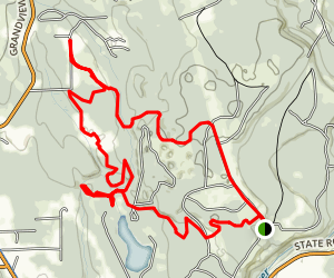 Pilchuck Tree Farm: Victoria, Armstrong, & Pilchuck Trails Map