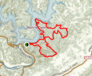 Norris Dam State Park Campground Trail Map