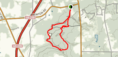 Chestnut Ridge Map
