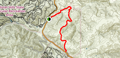 Hollister Hills SVRA Map