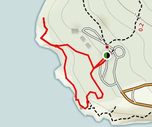 Lime Kiln Point State Park Trails Map